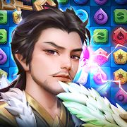 Скачать Three Kingdoms & Puzzles: РПГ три в ряд (Взлом много монет) версия 1.10.0 на Андроид